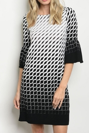 Gilli Textured Shift Dress - Product Mini Image