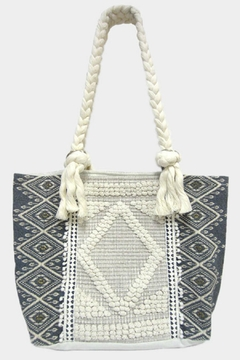 Shoptiques Product: Textured Tapestry Tote
