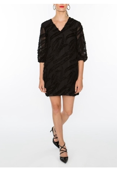 Crosby by Mollie Burch Textured V-Neck Dress - Product List Image