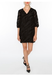 Crosby by Mollie Burch Textured V-Neck Dress - Product Mini Image