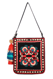 America & Beyond Thai Indo Fusion Embroidered Tote - Product Mini Image