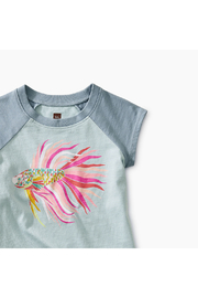 Tea Collection Thailan Beta Baby Graphic Tee - Front full body