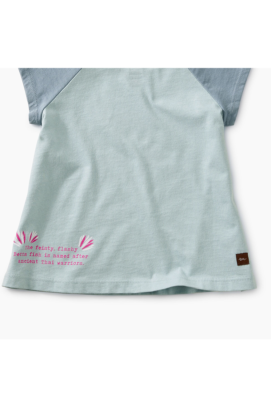 Tea Collection Thailan Beta Baby Graphic Tee - Back Cropped Image