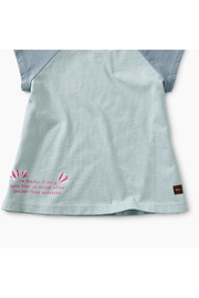 Tea Collection Thailan Beta Baby Graphic Tee - Back cropped