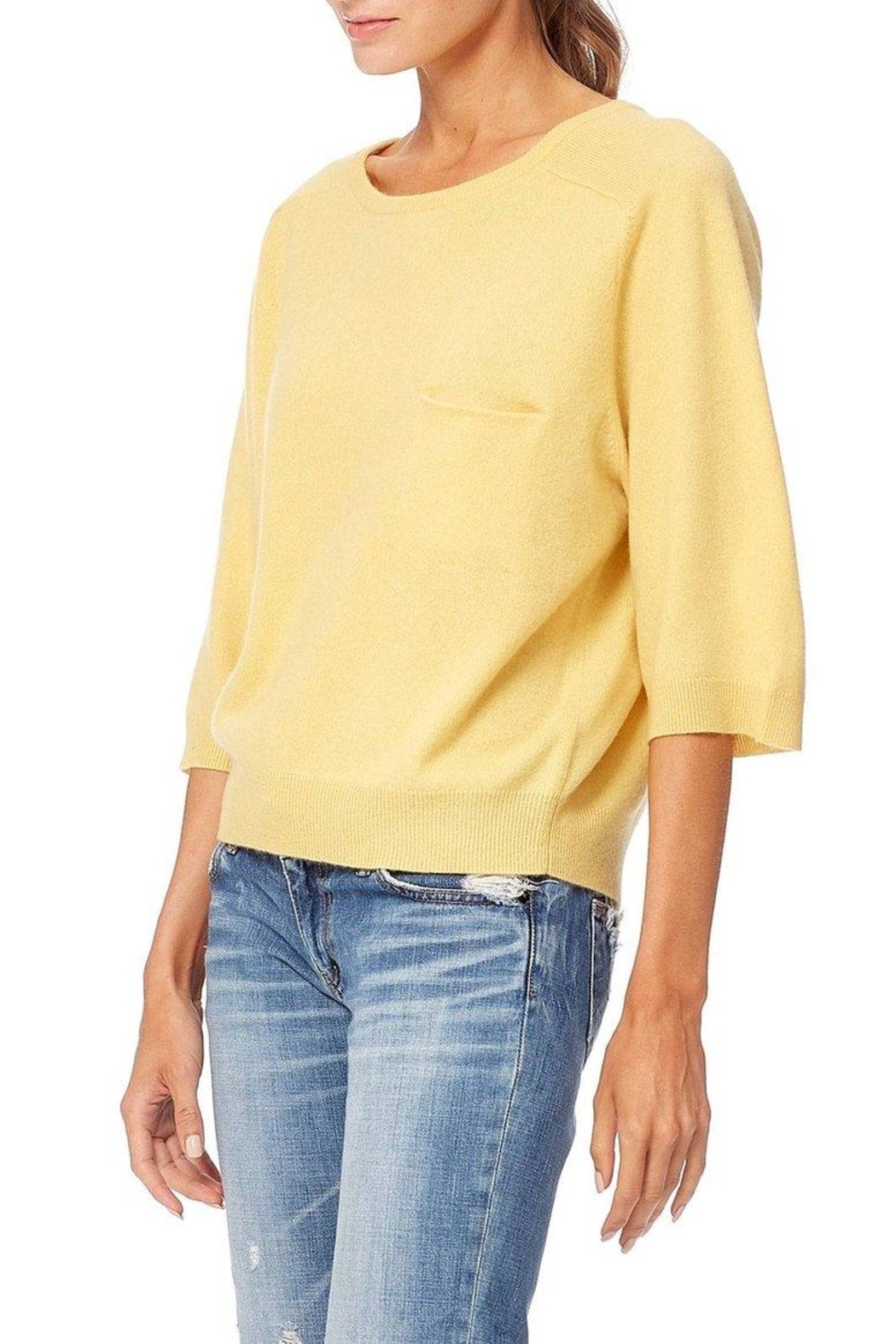 360 Cashmere Thalia Buttercup Cashmere - Front Full Image