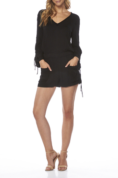 On The Road Thalia Solid Romper - Product List Image