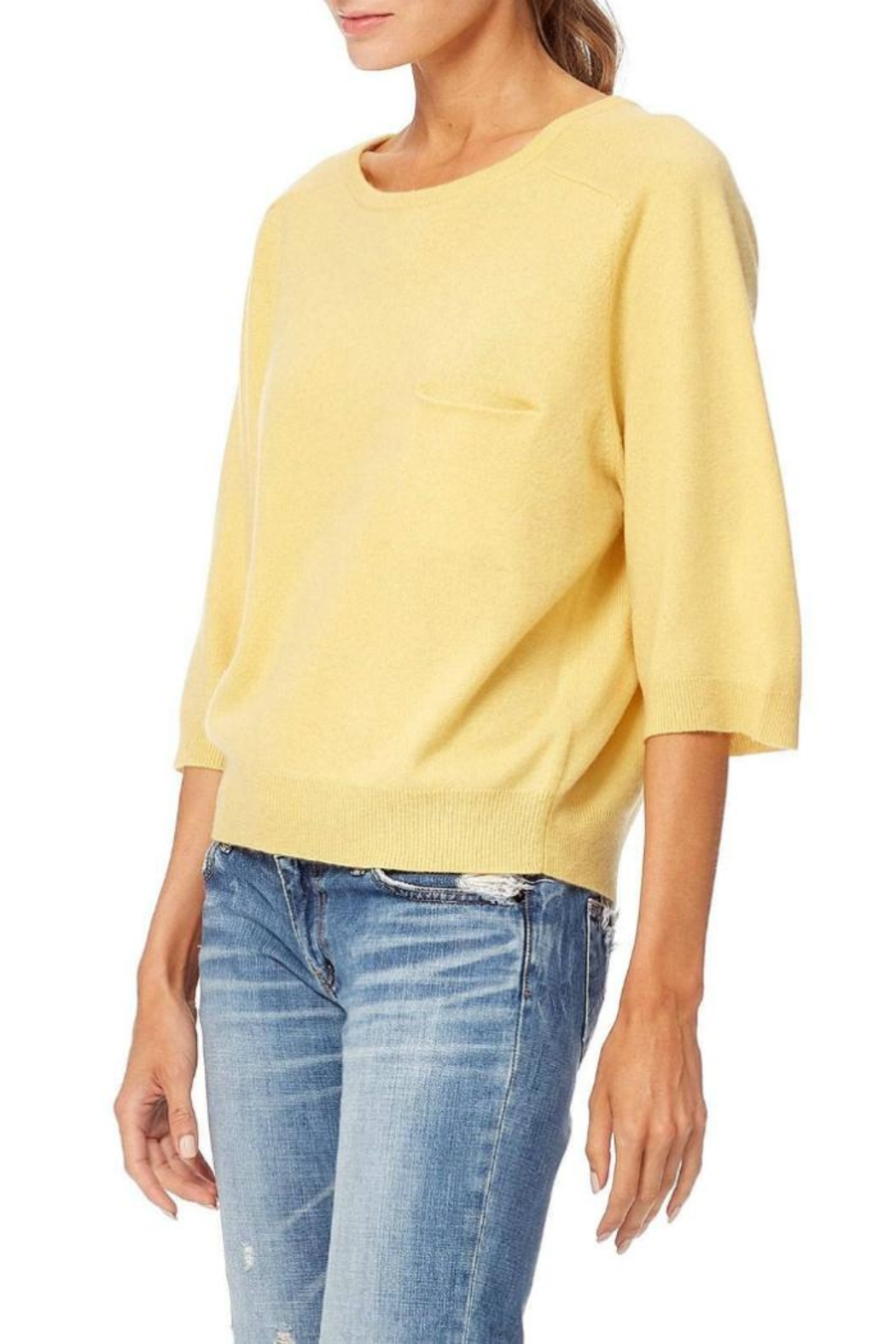 360 Cashmere Thalia Sweater - Side Cropped Image