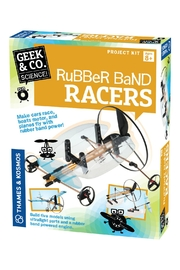 Thames & Kosmos Rubberband Racer Kit - Product Mini Image