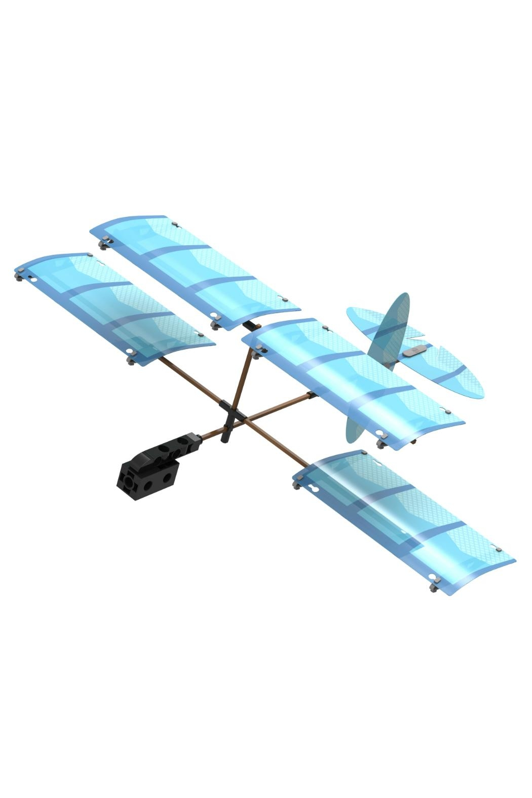 Thames & Kosmos Ultralight Airplanes Kit - Side Cropped Image