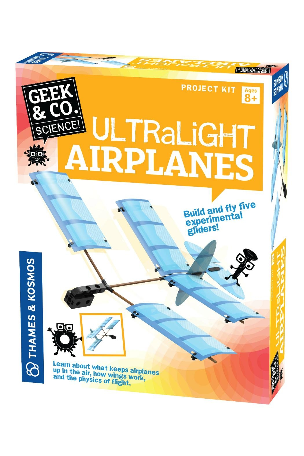 Thames & Kosmos Ultralight Airplanes Kit - Main Image