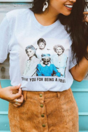 Charlie Southern Thank You For Being a Friend Tee - Front cropped