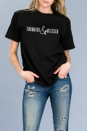 Natasha Couture Fashion Thankful-&-Blessed Tee - Product Mini Image