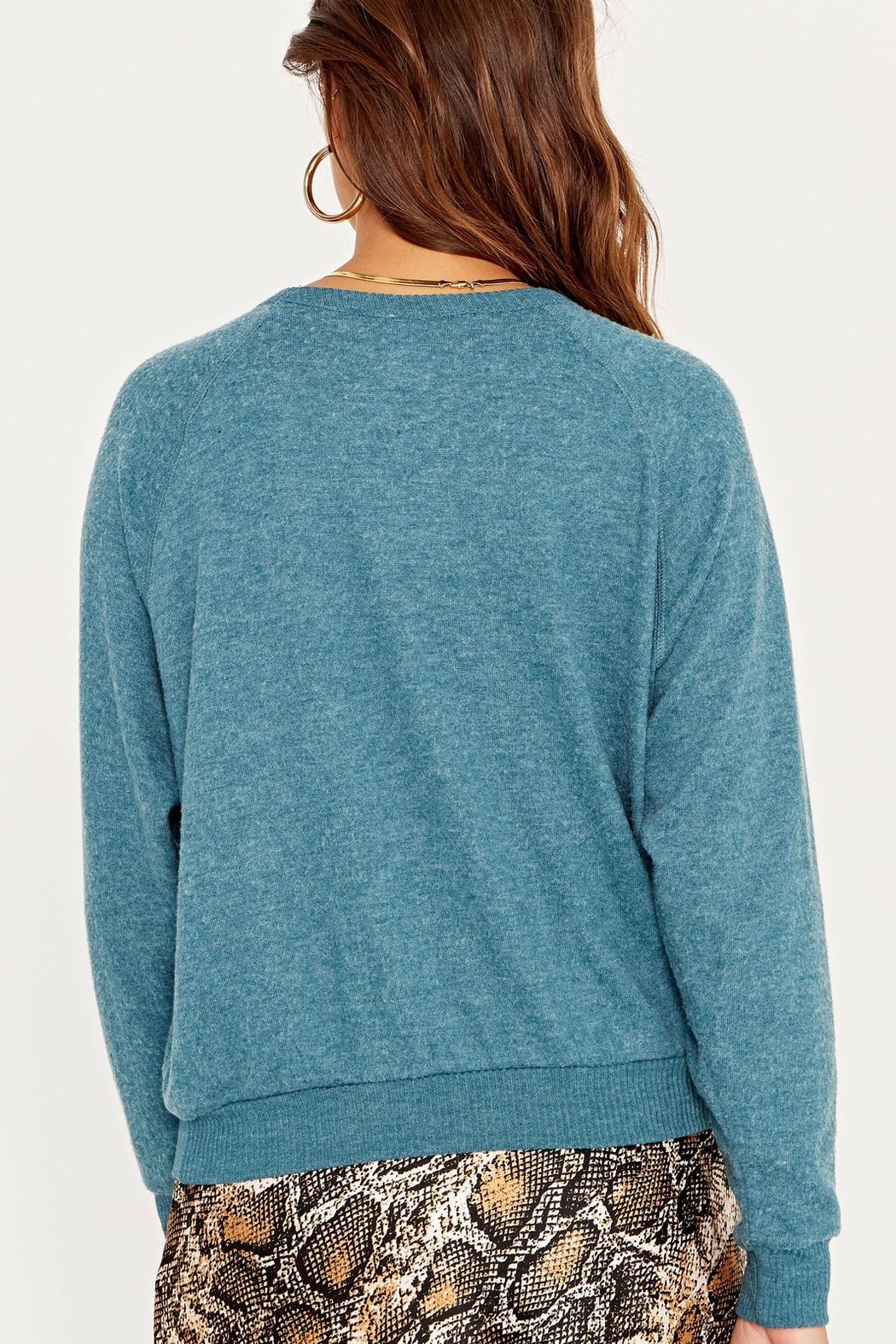 Project Social T Thankful Cozy Pullover Sweater - Side Cropped Image