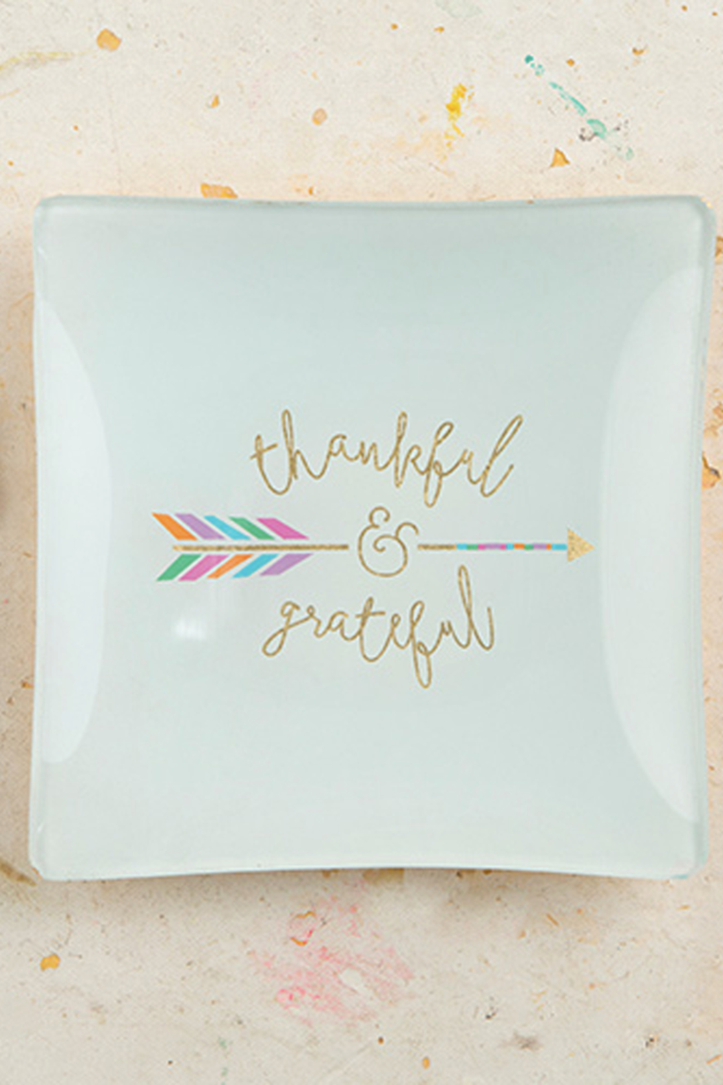 Boe Thankful & Grateful Dish - Front Cropped Image
