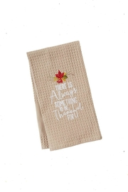 Mud Pie Thankful Towel - Product Mini Image