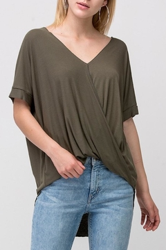 Shoptiques Product: That's-A-Wrap In Olive