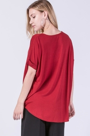 Double Zero That's-A-Wrap In Red - Back cropped