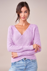 Sugarlips That's A Wrap Sweater - Front full body