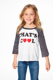 Chaser That's Cool Raglan - Front cropped