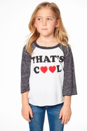 Chaser That's Cool Raglan - Front full body