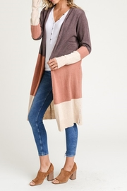 Doe & Rae The Abby Sweater - Back cropped