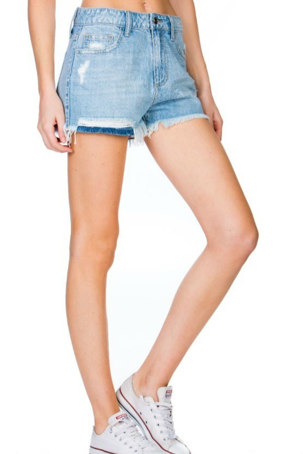 Cello The Ale Denim-Shorts - Front Full Image