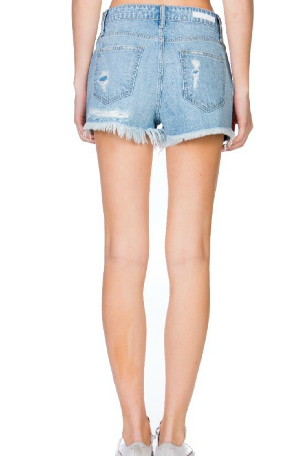 Cello The Ale Denim-Shorts - Side Cropped Image