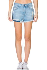 Cello The Ale Denim-Shorts - Front cropped
