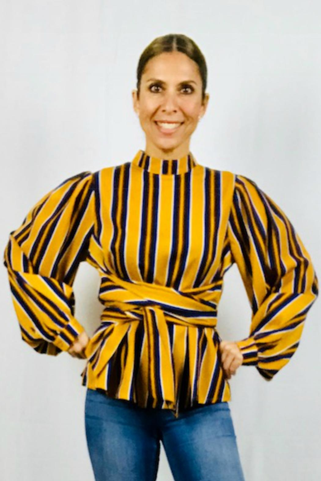 Flying Tomato The Alessa Blouse - Front Full Image