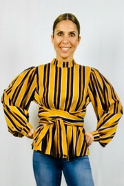 Flying Tomato The Alessa Blouse - Front full body