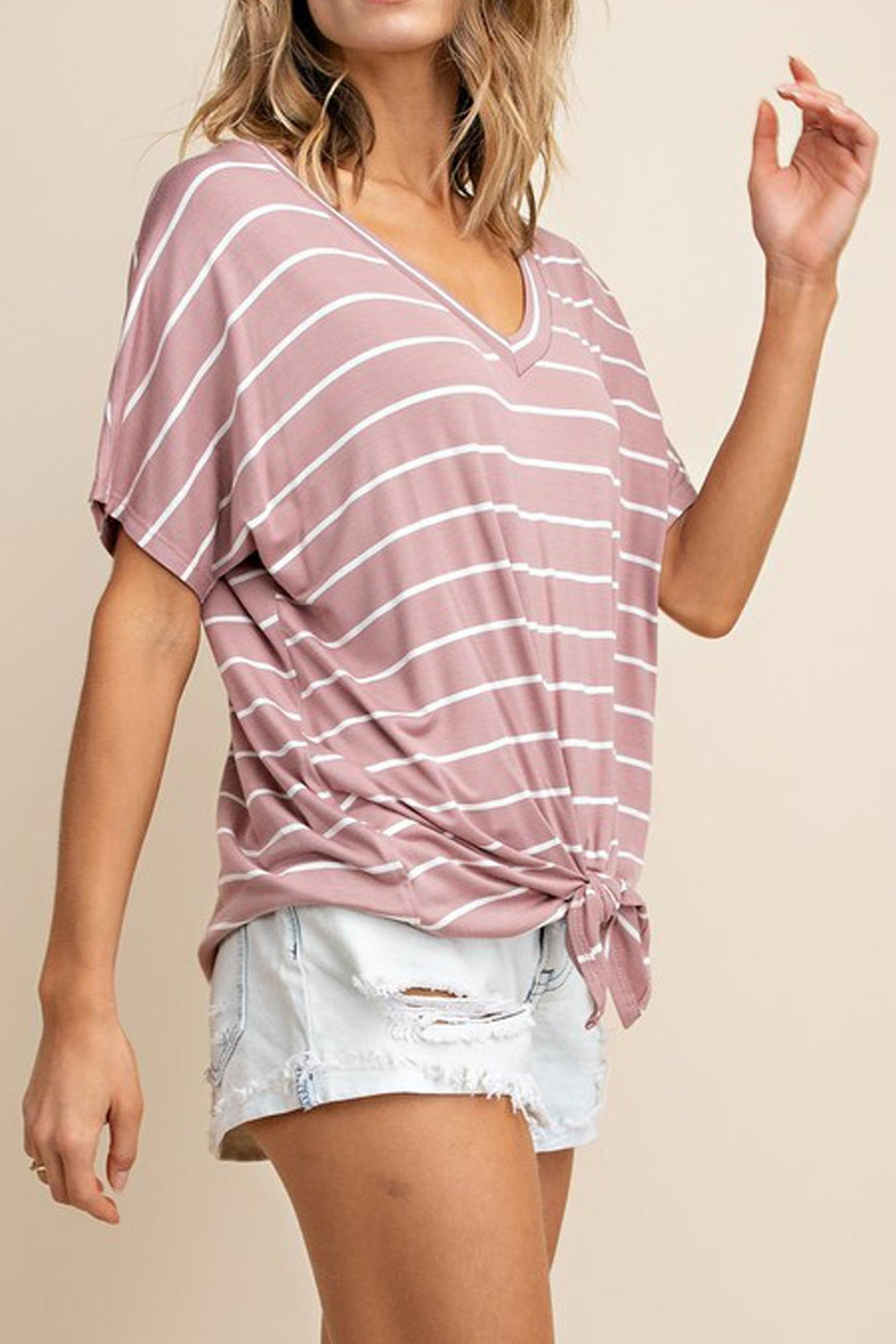 Mittoshop The Alex Striped-Tee - Side Cropped Image