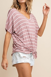 Mittoshop The Alex Striped-Tee - Side cropped