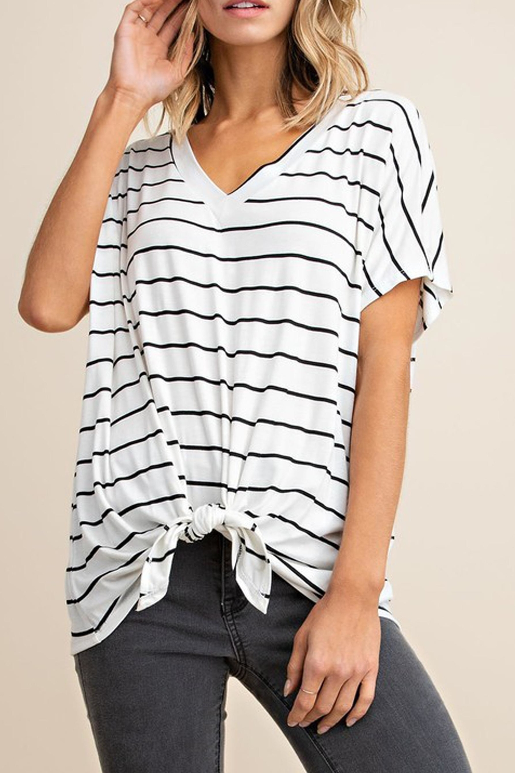 Mittoshop The Alex Striped-Tee - Front Cropped Image