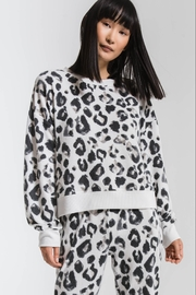 z supply The Amur Leopard Top - Front cropped