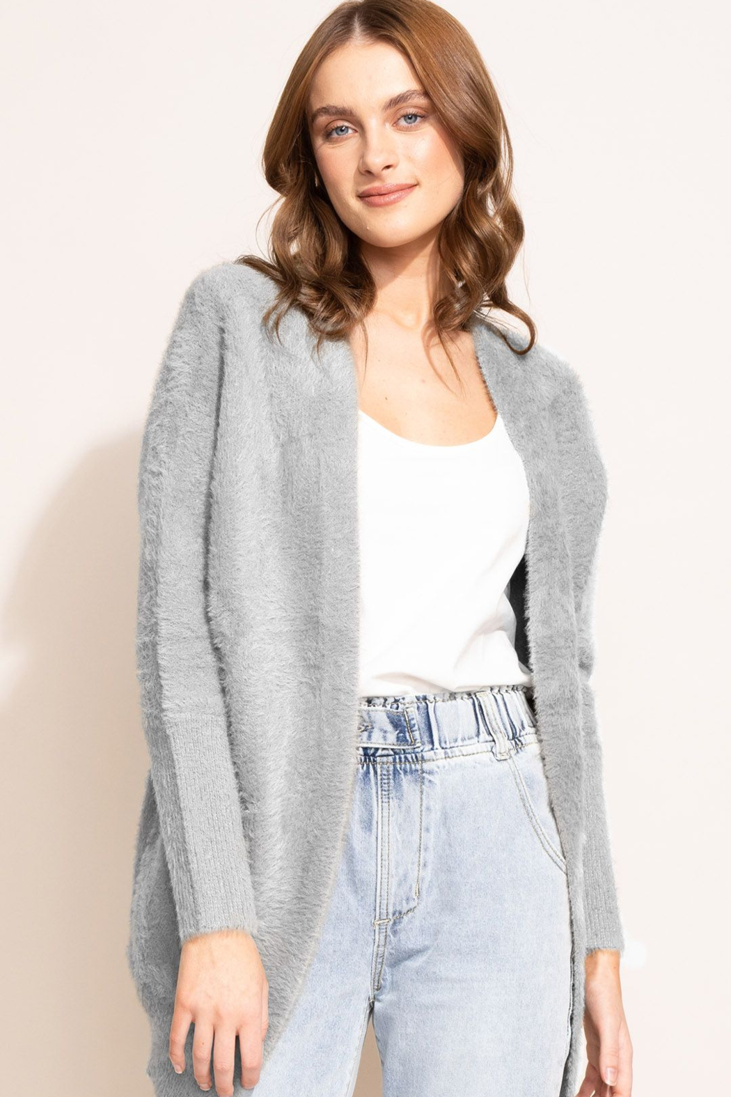 Pink Martini The Arielle Sweater - Front Cropped Image