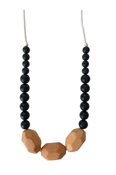 Chewable Charm The Austin - Black Teething Necklace - Product List Image