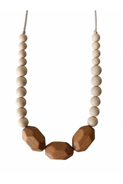 Chewable Charm The Austin - Cream Teething Necklace - Product List Image
