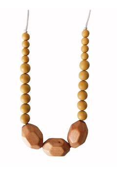 Chewable Charm The Austin - Mustard Yellow Teething Necklace - Product List Image