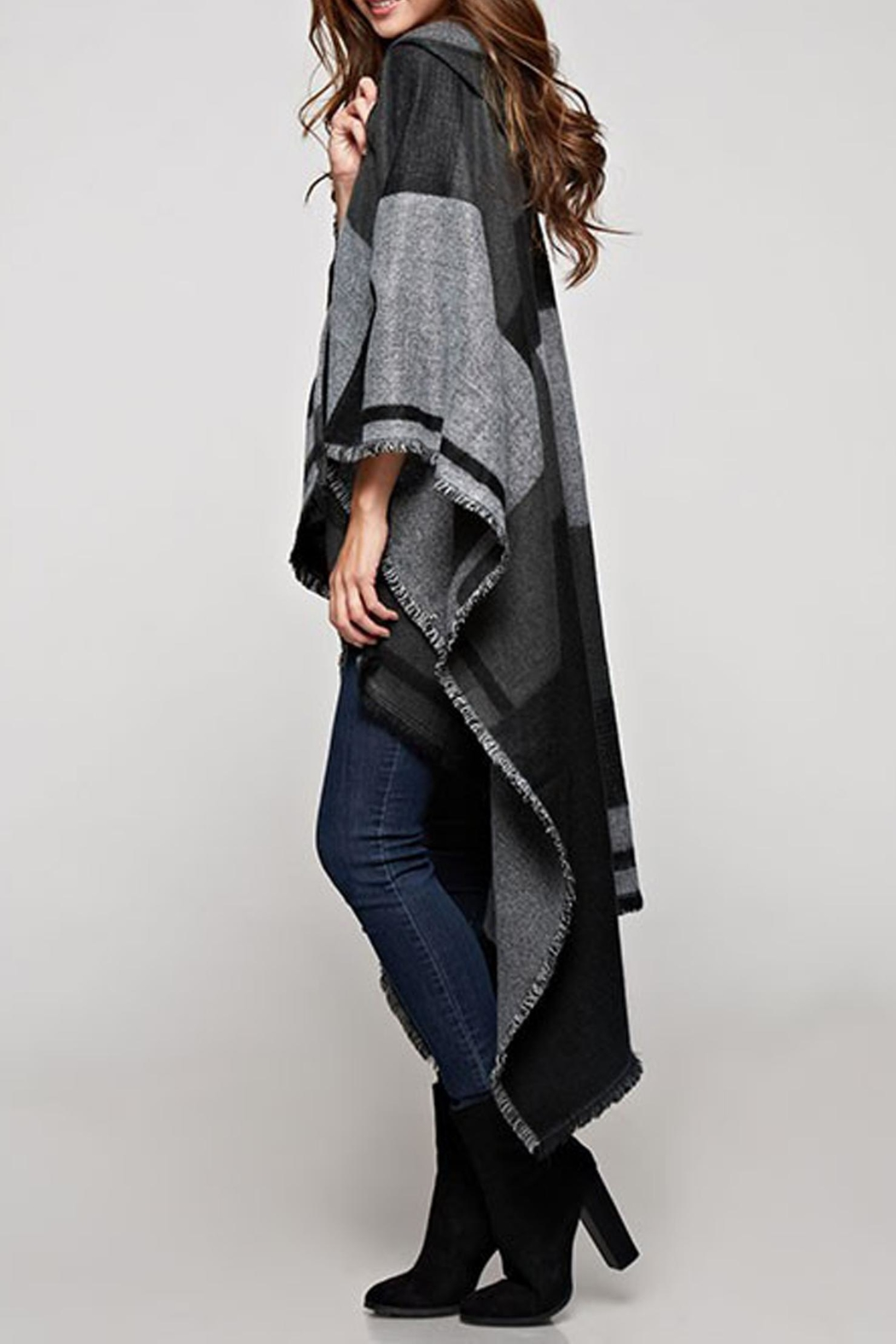 Lovestitch The Avery Poncho - Front Full Image