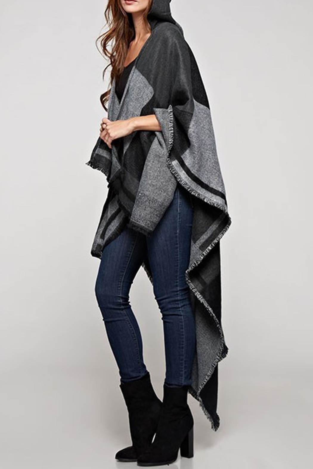 Lovestitch The Avery Poncho - Side Cropped Image