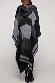 Lovestitch The Avery Poncho - Back cropped