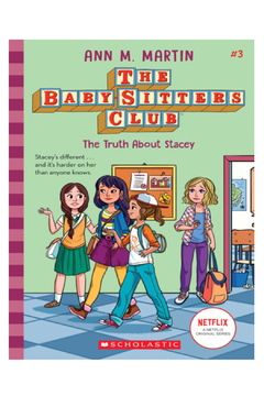 Scholastic The Baby-Sitters Club #3: The Truth About Stacey - Alternate List Image