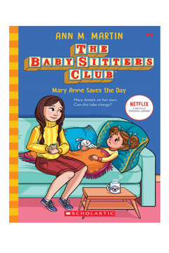 Scholastic The Baby-Sitters Club #4: Mary Anne Saves the Day - Alternate List Image