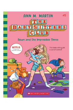 Scholastic The Baby-Sitters Club #5: Dawn and the Impossible Three - Alternate List Image