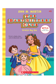 Scholastic The Baby-Sitters Club #6: Kristy's Big Day - Front cropped