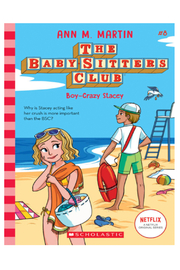 Scholastic The Baby-Sitters Club #8: Boy Crazy Stacey - Product Mini Image