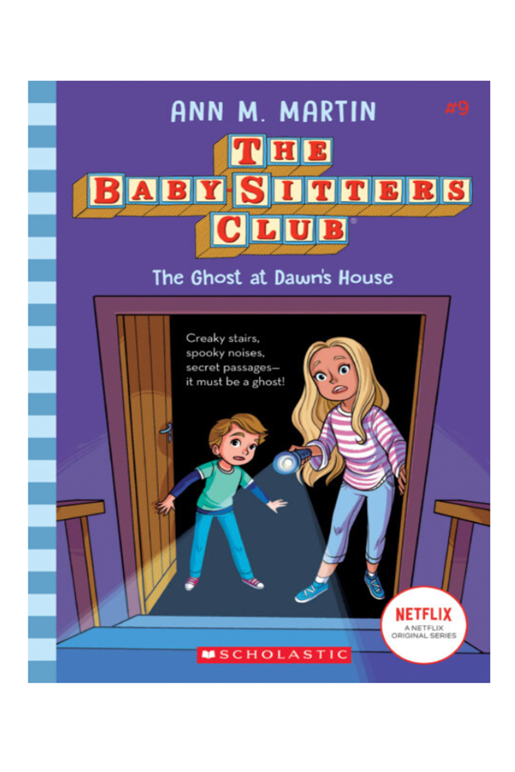 Scholastic The Baby-Sitters Club #9: The Ghost At Dawn's House - Main Image