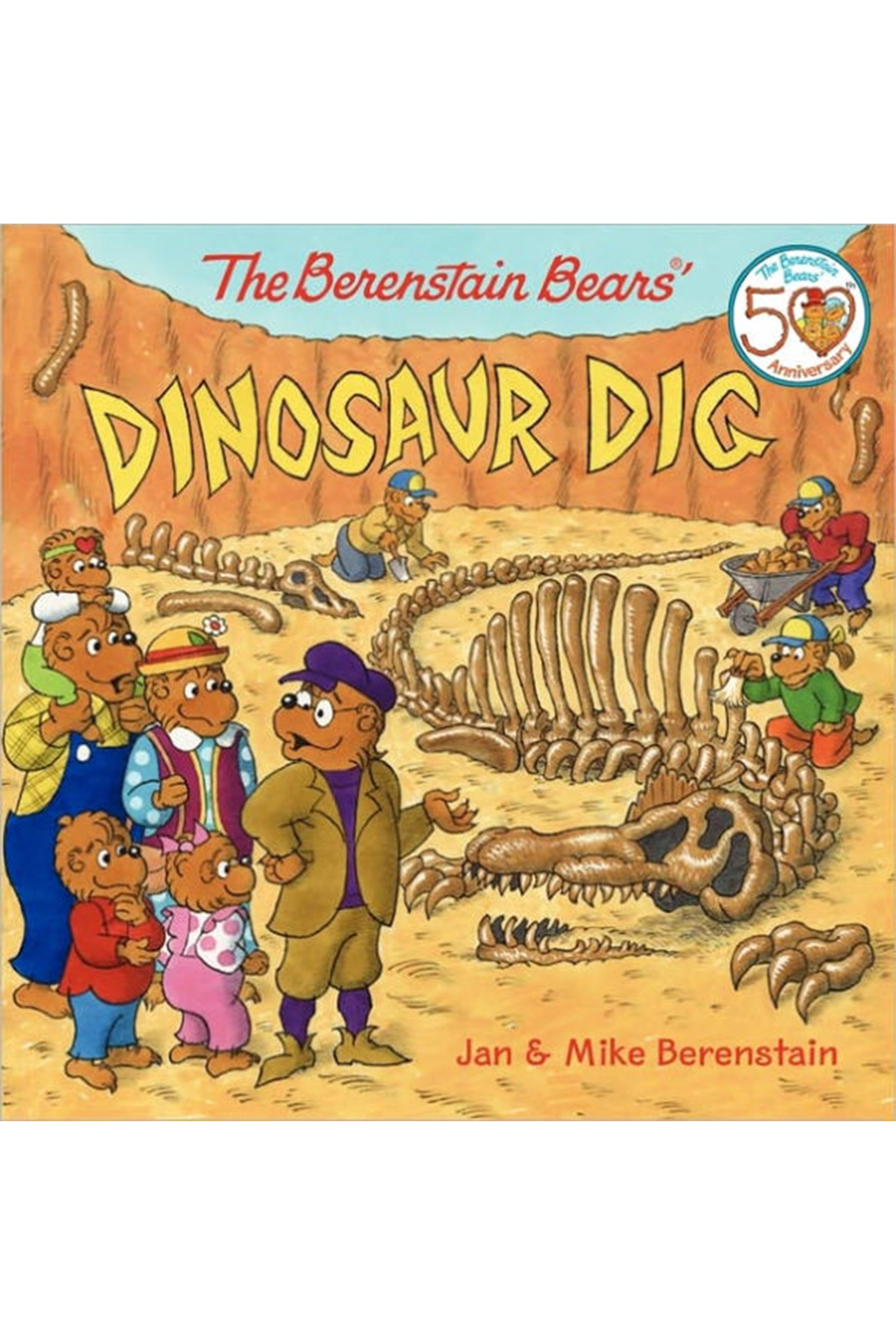 Harper Collins Publishers The Berenstain Bears Dinosaur Dig - Main Image