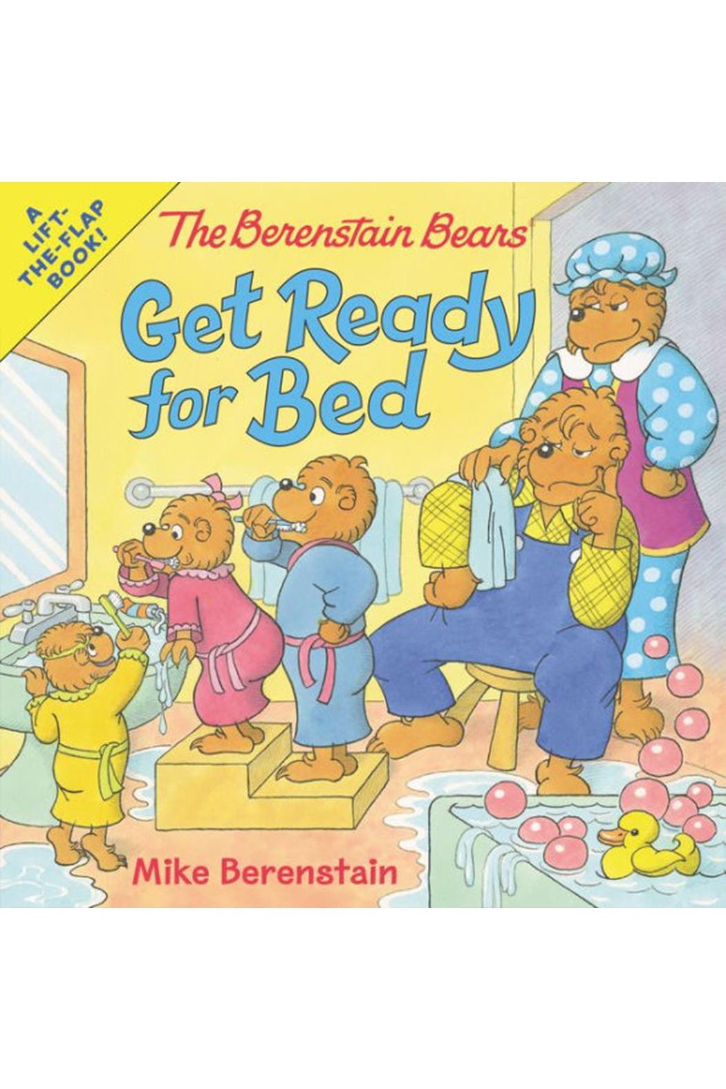Harper Collins Publishers The Berenstain Bears Get Ready For Bed - Main Image