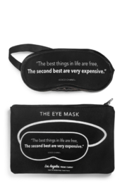 LA Trading Co The Best things...Eye Mask - Product Mini Image
